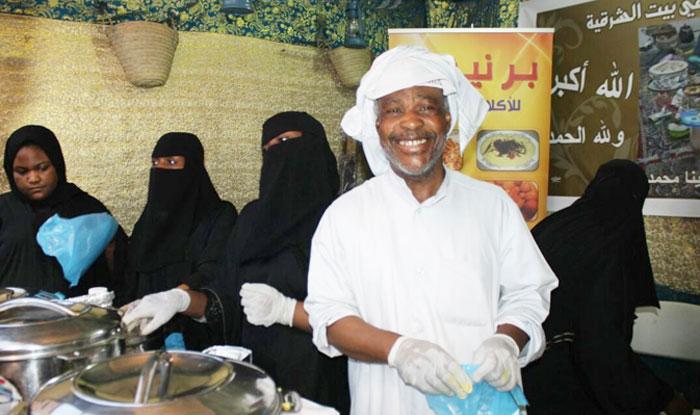 الأسواق الشعبية السعودية - طعام