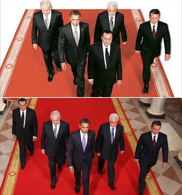 أبرز استخدامات الفوتوشوب الفاشلة من قبل الأنظمة العربية - صورة 1