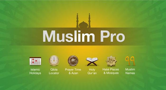 افضل تطبيقات رمضان - مسلم برو