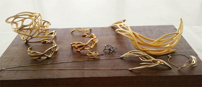 جديد الأجهزة القابلة للارتداء Wearables - المجوهرات ثلاثية الأبعاد