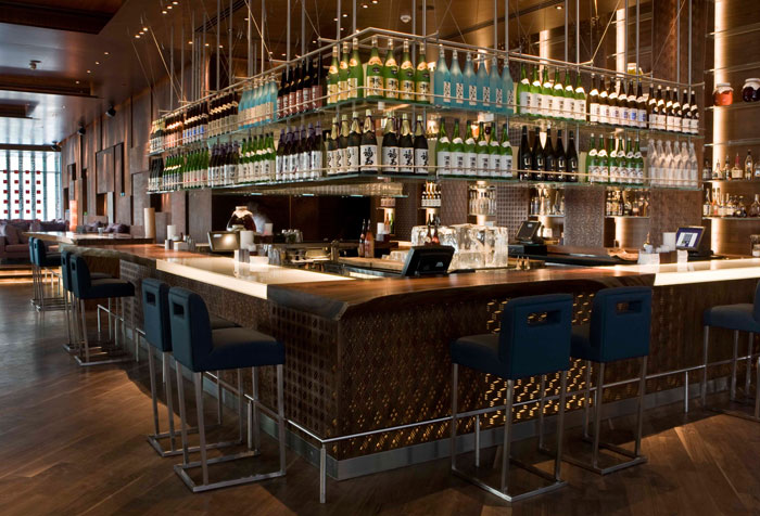 أفضل الأماكن لاحتساء مشروب بعد العمل في دبي .. Aperitivo في دبي - Zuma