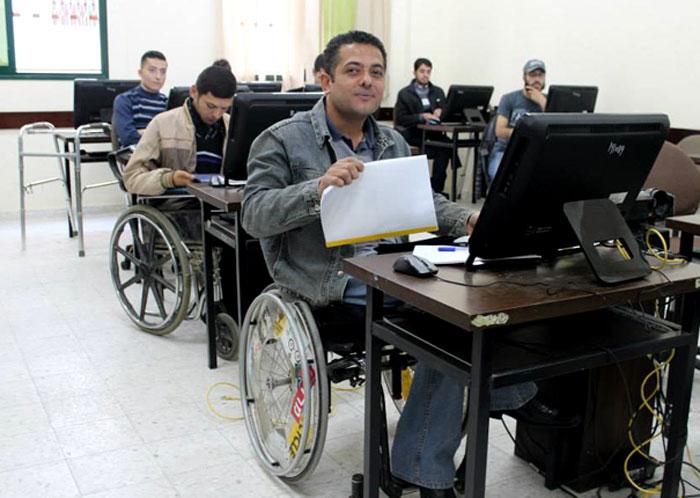 برنامج إرادة قصص نجاح لذوي الاحتياجات الخاصة في غزة - صورة 1