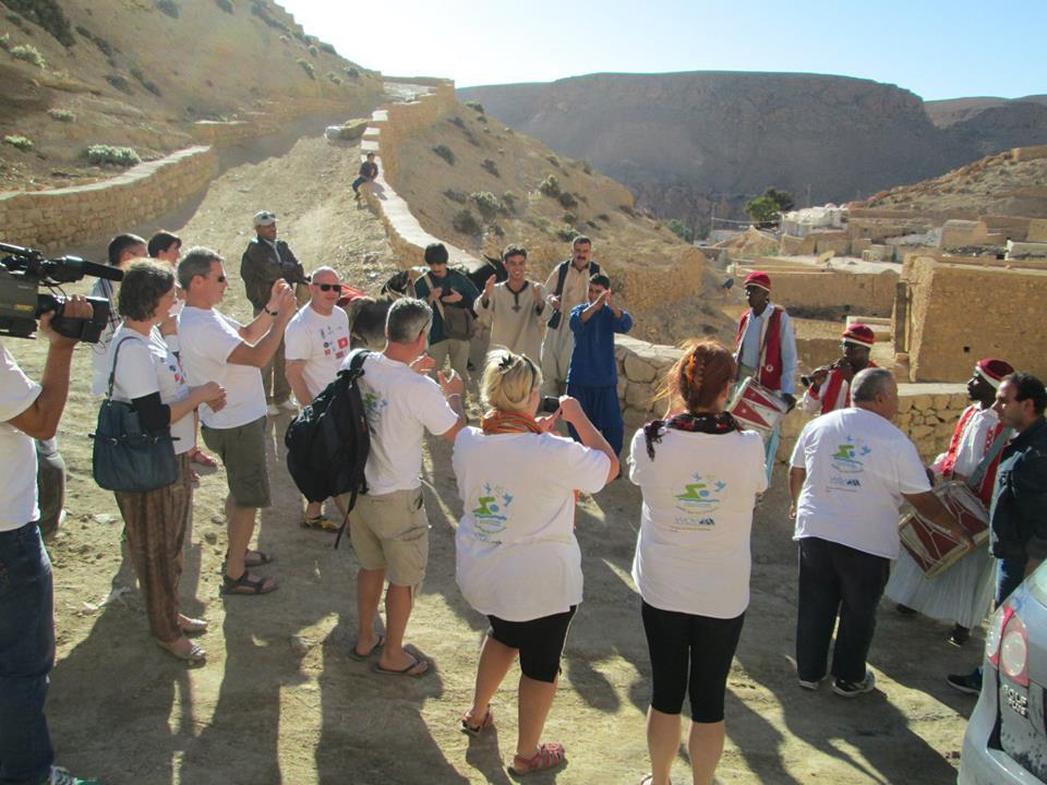 السياحة التضامنية في تونس - السياح