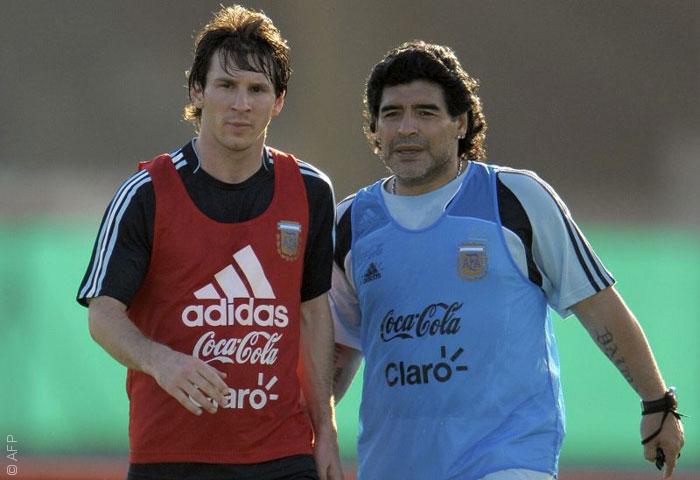 أفضل لاعب في تاريخ كرة القدم - ميسي وماردونا