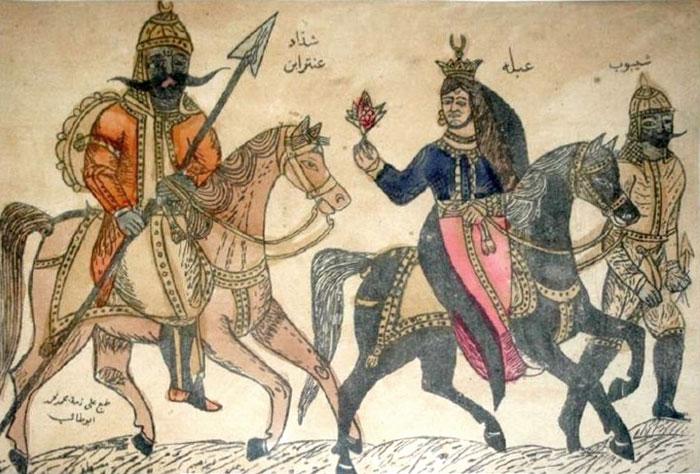 أبرز المعشوقات العربيات - أبرز المعشوقات في التراث العربي - عبلة