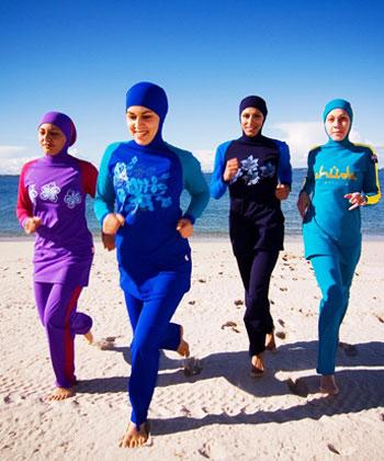 المنتجات الحلال الخاصة بالنساء - بوركيني