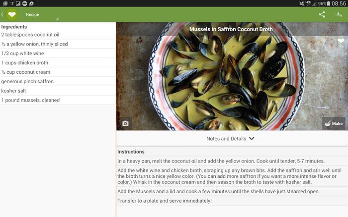 افضل تطبيقات الطبخ الاجنبية لوصفات الطعام - Cheftap