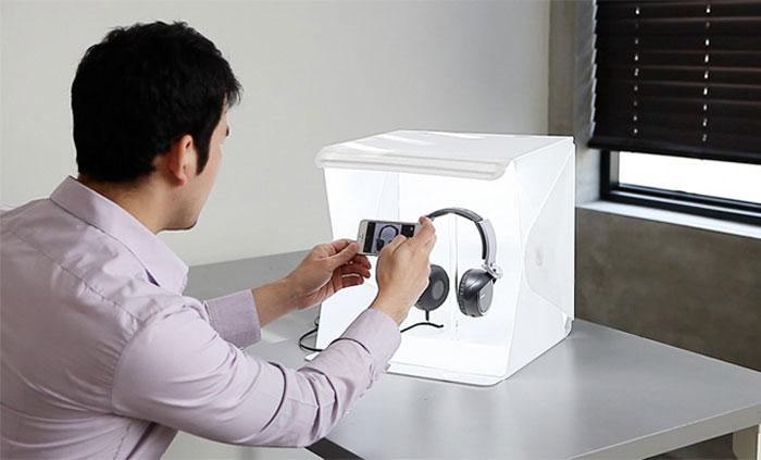 أدوات تحول هاتفكم الذكي إلى كاميرا احترافية - Foldio