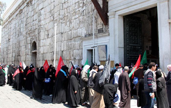الجامع الأموي في دمشق - رحلة إلى الجامع الأموي في دمشق - إيرانيون