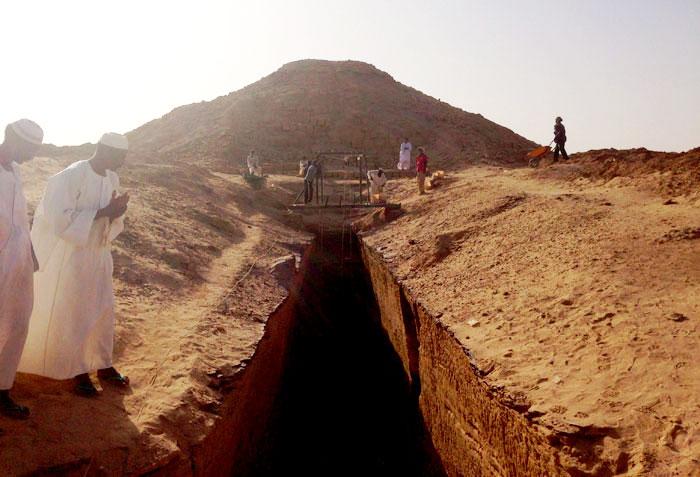 الحضارة النوبية في السودان - محاولات إنقاذ آثار الحضارة النوبية - تنقيب