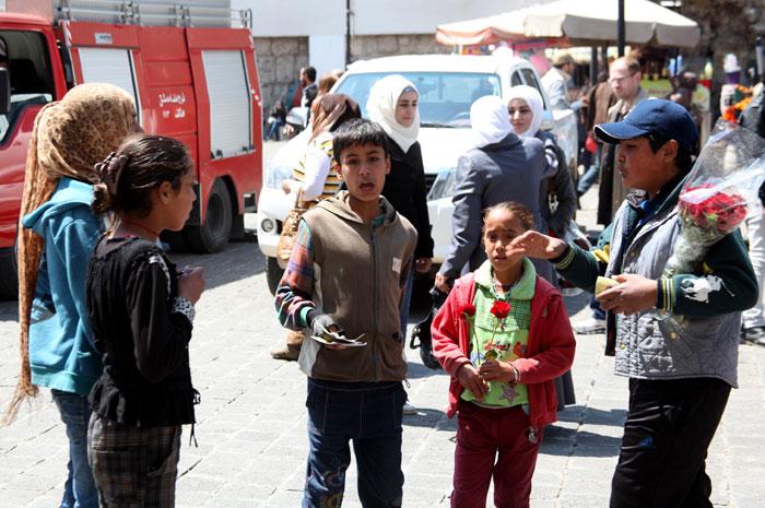 الجامع الأموي في دمشق - رحلة إلى الجامع الأموي في دمشق  - أطفال