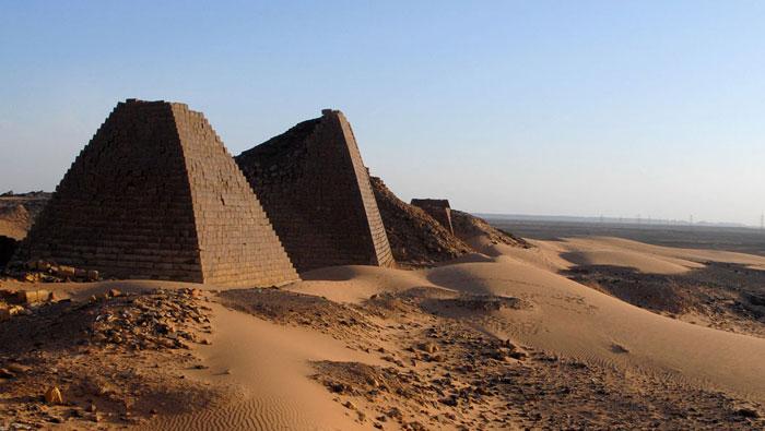 الحضارة النوبية في السودان - محاولات إنقاذ آثار الحضارة النوبية - اهرامات