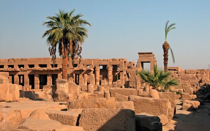 أهم المعالم الأثرية العربية المكتشفة عن طريق الصدفة - معبد تحتمس