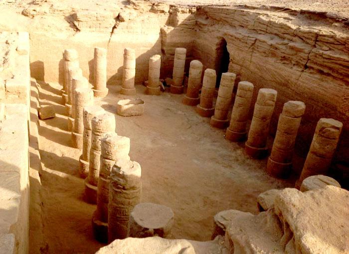 الحضارة النوبية في السودان - محاولات إنقاذ آثار الحضارة النوبية - معبد