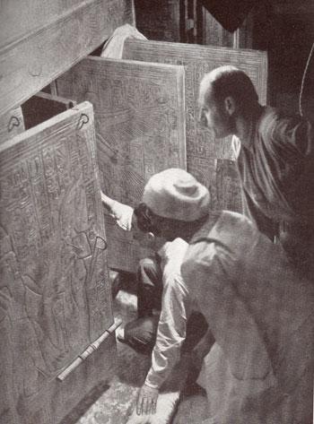 أهم المعالم الأثرية العربية المكتشفة عن طريق الصدفة - مقبرة توت