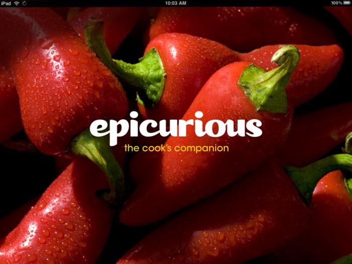 افضل تطبيقات الطبخ الاجنبية لوصفات الطعام - epicurious