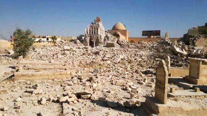 أبرز الأضرحة التي دمرها داعش - صورة 1