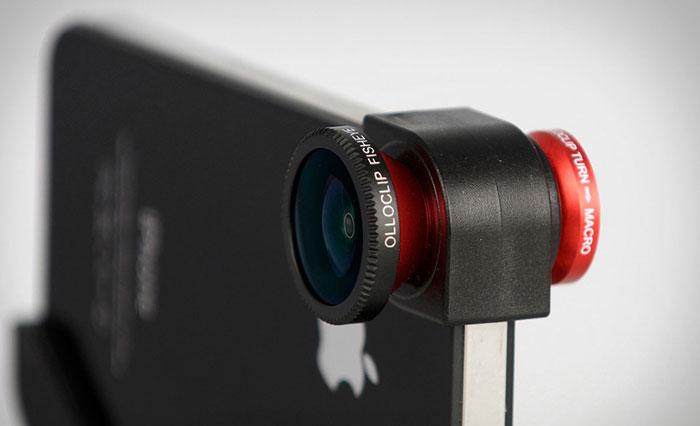 أدوات تحول هاتفكم الذكي إلى كاميرا احترافية - olloclip