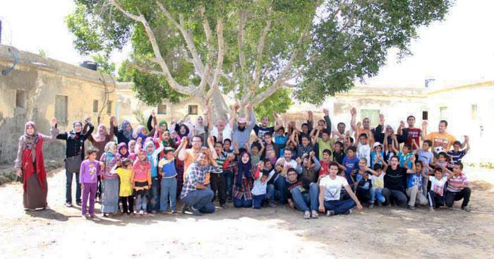 قصة من سيناء - حديقة الأمل