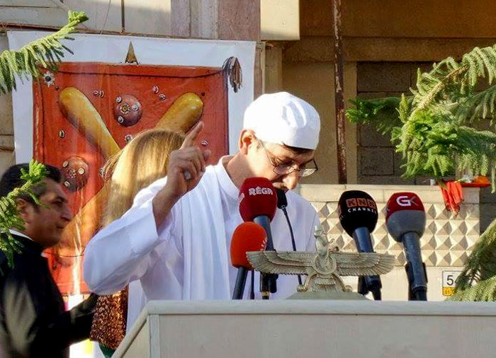 الديانة الزرادشتية في كردستان - محاولات لنشر الديانة الزرادشتية - صورة  1