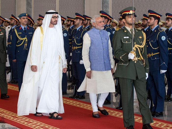 معبد هندوسي في أبو ظبي - رئيس الوزراء الهندي في زيارة إلى الإمارات