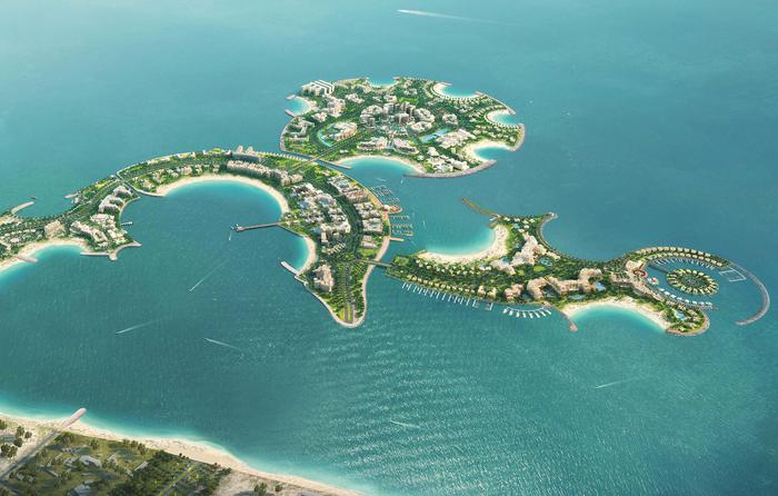 جزر للبيع في الشرق الاوسط - اهم الجزر للبيع في الشرق الاوسط - Al-Marjan-Island