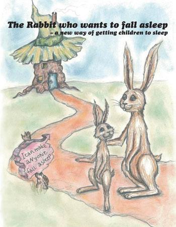 كتاب الأرنب الذي يريد أن ينام - غلاف