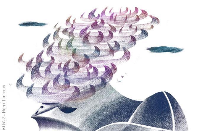 خلق الكون - الثور والحوت