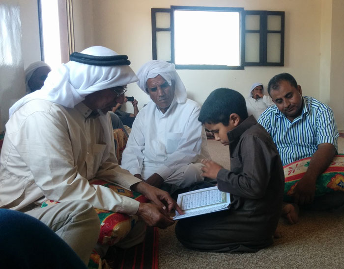 قصة من سيناء - حديقة الأمل - قراءة