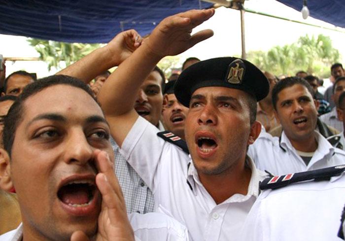 مظاهرات الشرطة في مصر