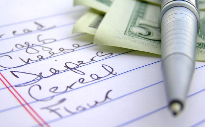 ادخار المال - اشتروا فقط ما مكتوب