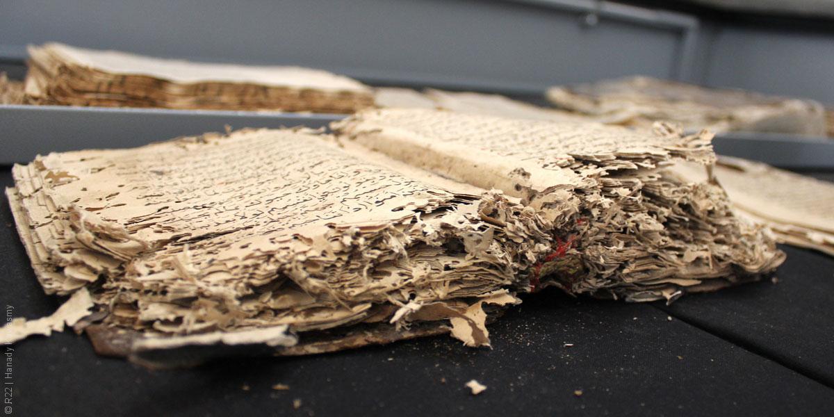 إنقاذ ثروة مخطوطات المسجد الأقصى قبل ضياعها