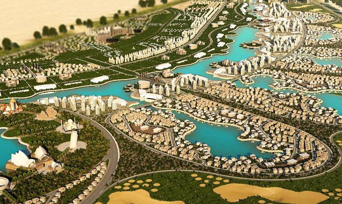 مشاريع اقتصادية ضخمة قيد الإنجاز في العالم العربي - مشروع واحة أكتوبر