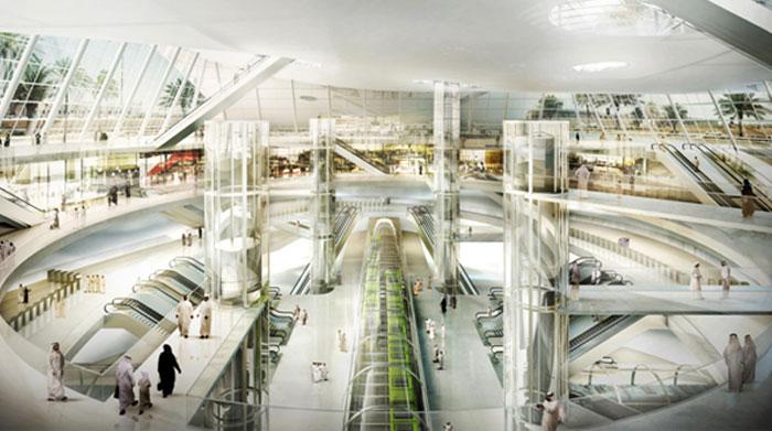 مشاريع اقتصادية ضخمة قيد الإنجاز في العالم العربي - مترو الرياض