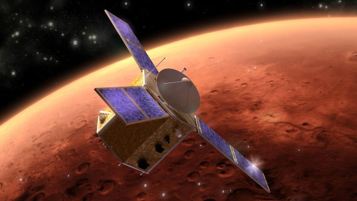 الإمارات اول دولة عربية تستكشف الفضاء - مسبار الأمل