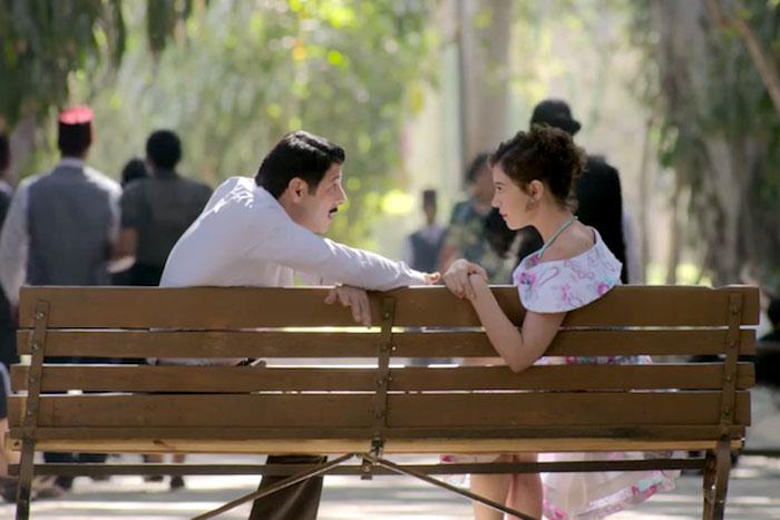 صورة اليهود على الشاشة المصرية - اليهود في الدراما المصرية - من مسلسل حارة اليهود