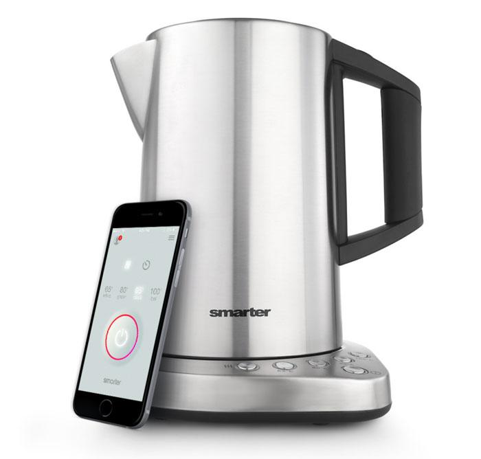 مطبخ المستقبل - أدوات مطبخ إلكترونية ستحدث ثورة في مطبخكم - Smarter-Kettle