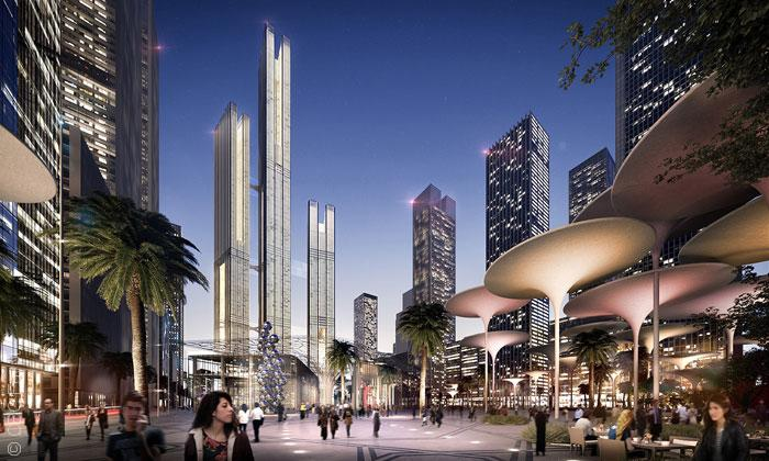 مشاريع اقتصادية ضخمة قيد الإنجاز في العالم العربي - العاصمة المصرية الجديدة