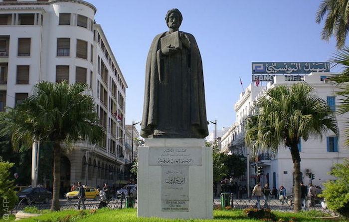 تمثال العلامة ابن خلدون