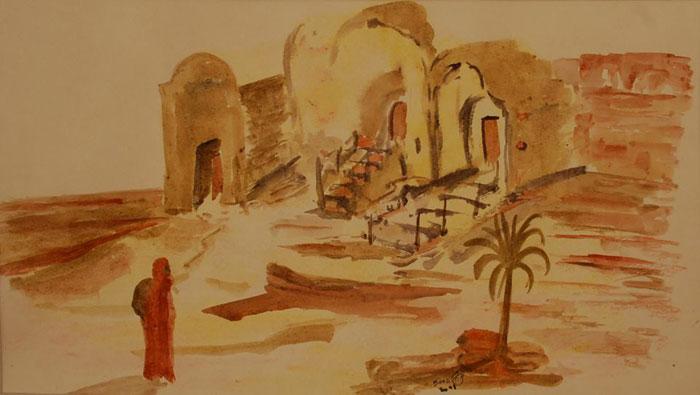 الفن في تونس - فن يحاول المحافظة على الطبيعة - سعد-1