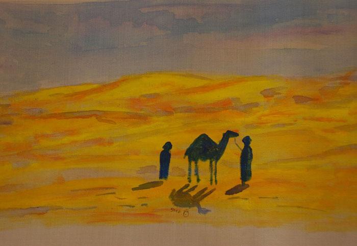 الفن في تونس - فن يحاول المحافظة على الطبيعة - سعد2