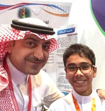 مخترعون عرب صغار - متخرعون صغار عرب دون سن الـ15 - سليمان بن أحمد