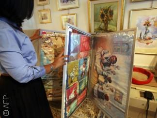 الحرب توقف نهضة الفن التشكيلي الليبي