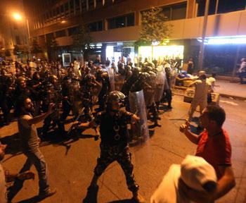 الحراك المدني اللبناني - 25 أغسطس