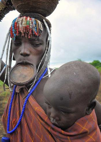 قبائل بدائية - قبائل السورما
