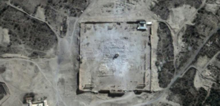 تدمير تدمر وسط سوريا من قبل تنظيم داعش
