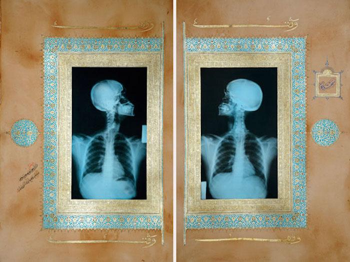 الفن المفاهيمي السعودي - الفن السعودي المعاصر - إضاءات أحمد ماطر