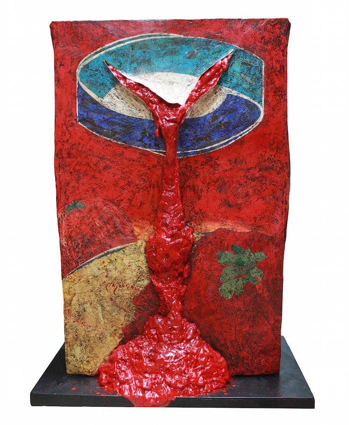 الفن المفاهيمي السعودي - الفن السعودي المعاصر - tomato