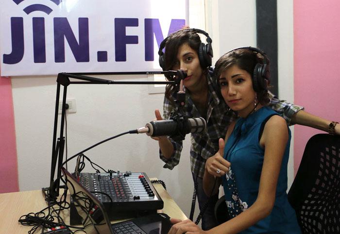 إذاعة جين أف أم .. أول إذاعة نسائية تبث عبر الـ FM في سوريا - الهدف