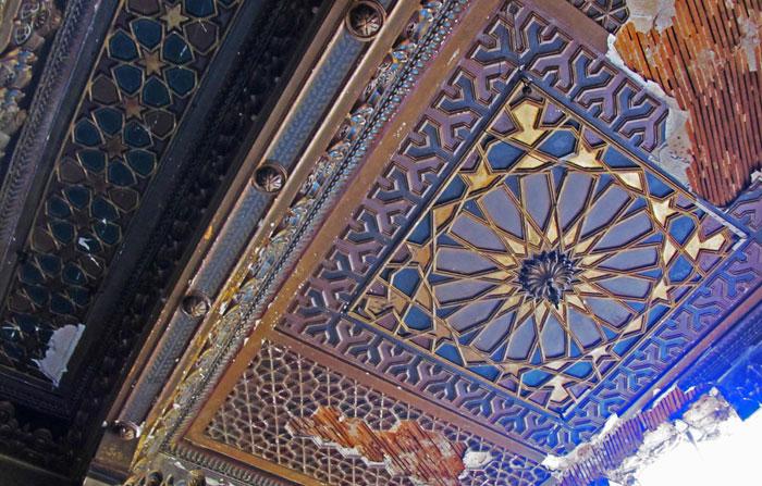 معالم اثرية عربية في خطر - قصر حنينة